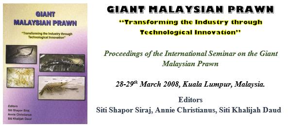 GIANT MALAYSIAN PRAWN – Malaysian Fisheries Society :: MFS